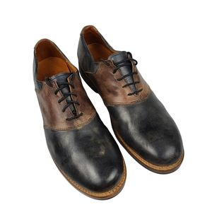Bed Stu Edison Teak Rustic Leather Shoe